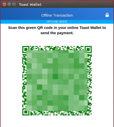 XRP送金トランザクションのQRコード