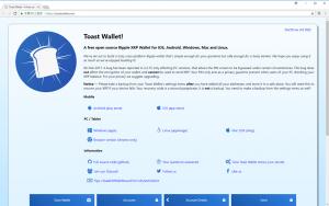 Toast Wallet公式サイト